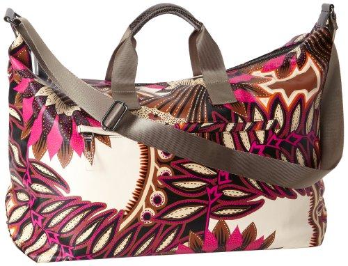 UPC 020204740557, Echo Design Women's Tribal Mudcloth Weekender Bag, Light Magenta, One Size