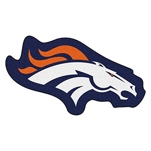 FANMATS 20968 Team Color 3' x 4' NFL - Denver Broncos Mascot Mat ()