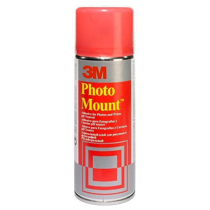 78 opinioni per 3M Adesivo Spray Photo Mount/Colla Spray Professionale per Fotografie e Stampe,