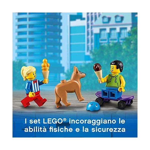 LEGO City Great Vehicles Furgone dei Gelati con 2 Minifigure e 1 Cane, Più 1 Serie di Accessori, Set di Costruzioni per… 4 spesavip