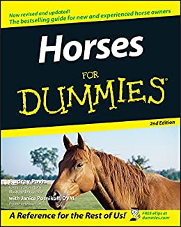 Horses For Dummies by [Pavia, Audrey, Posnikoff, Janice]