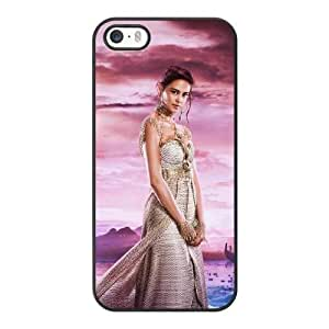 Generic Fashion Hard Back Case Cover Fit for iPhone 5 5S Cell Phone Case black Gods of Egypt with Free Tempered Glass Screen Protector PKL-6034320