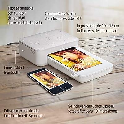HP Sprocket Studio - Impresora fotográfica portátil (tecnología de ...