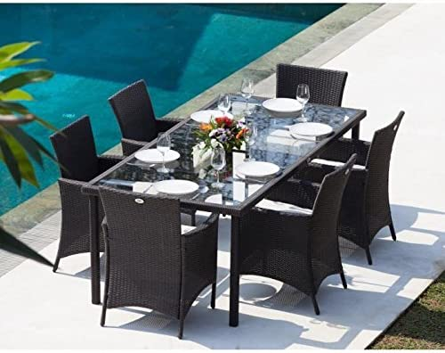 fauteuils table de résiAmazon Ensemble jardin 220cm et 6 rdCsQthx