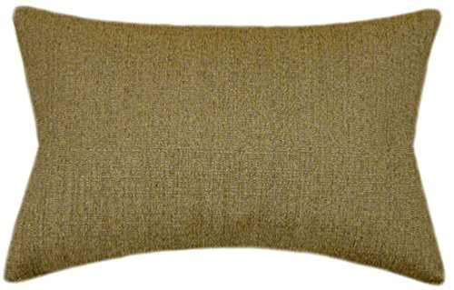 TPO Design, Sunbrella Pampas Linen Indoor/Outdoor Textured Patio Pillow 12x18 (Rectangle) ()
