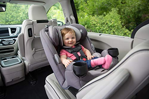 Safety 1st Grow and Go 3-in-1 Convertible Car Seat, Carbon Rose