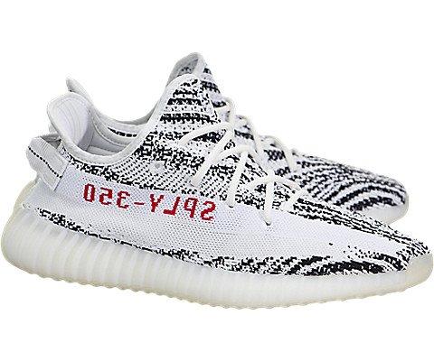 5133cf2f SHOPUS | adidas Yeezy Boost 350 V2 (Zebra) White/Black-red