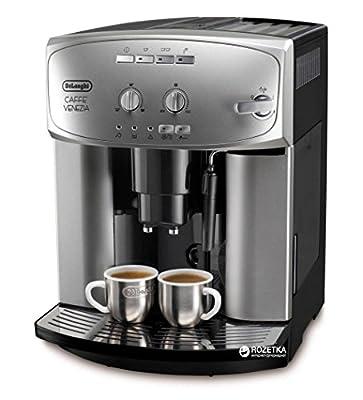 Delonghi ESAM 2200S Caffe Venezia Super Fully Automatic Espresso Machine Coffee Maker, Silver