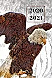 Patriotic American White & Brown Bald Eagle Dated Calendar Planner  2 years To-Do Lists,Tasks, Notes  Appointments: Pretty Small Pocket/Purse Size ... - Dec 2021, 25 months Weekly Planner Book)