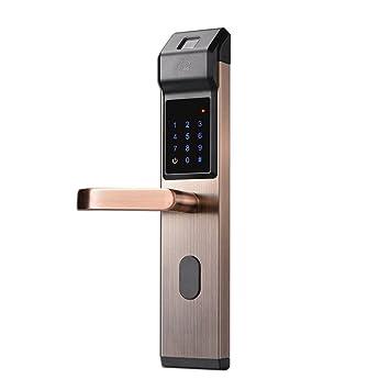 Smart lock Cerradura de Puerta electrónica Elegante de la Cerradura de la contraseña de la Tarjeta