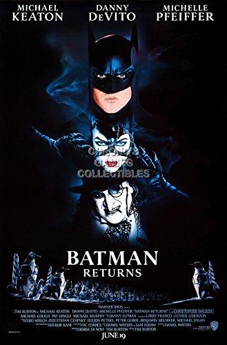 CGC Huge Poster - DC Batman Returns Movie Poster Michael Kea