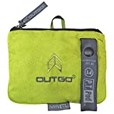 Outgo PT POD Microfiber Camp Towel, Outgo Green