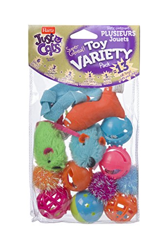 HARTZ Just For Cats Toy Variety Pack - 13 Piece