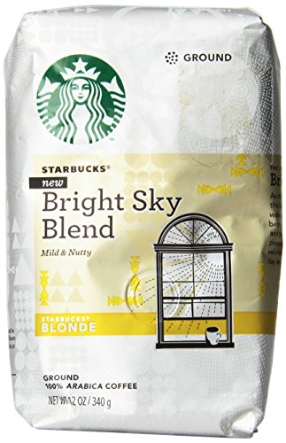 Starbucks Blonde Animated Sky Blend Coffee, Ground, 12 Oz. Bag (Pack of 3 Bags)