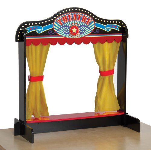 Dramatic Play Tabletop Theater (Puppets Not Included)