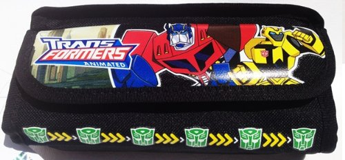 1 X Transformers Pencil Case and Stationary Set (Black)-gift Set for (Transformers Pencil Case)