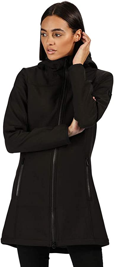 Regatta Womens Alerie Longline Softshell Coat Jacket