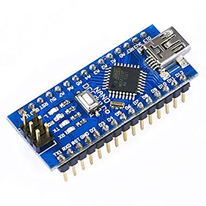 OSOYOO for Arduino Nano Board ATMEGA328P Module CH340G Mini Microcontroller  Shield with Solder pins Without USB Cable