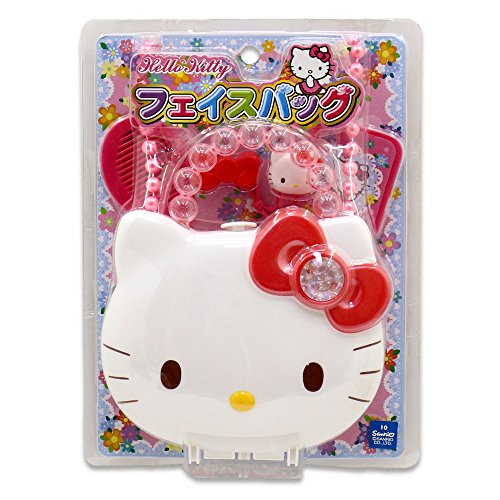 Hello Kitty Purse with Strap and Accessories from Japan ()