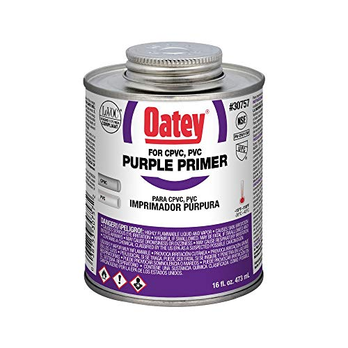 Oatey 30757 House Primers 16 oz Purple