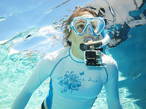 U.S. Divers Adult Magellan Purge LX Mask/Tucson LX Snorkel Photo #3
