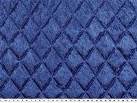Stepper, Pannesamt, blau, 145cm