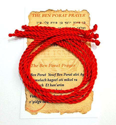 5-pcs-evil-eye-protection-kabbalah-red-string-bracelet-9-ben-porat-prayer-card-from-israel