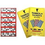 Tambola Tickets: Red Border