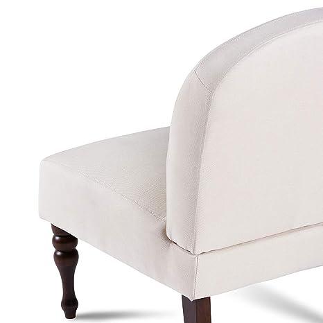 Amazon.com: SDENTE - Silla con patas de madera maciza para ...