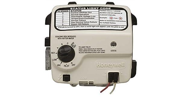 American calentador de agua gidds-110578 Honeywell - Válvula de gas natural Gas 2
