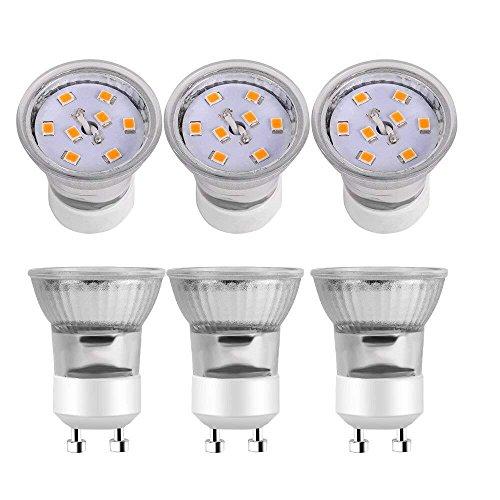 Gu10 Led Light Bulb Energy Saving 3W Warm White in US - 8
