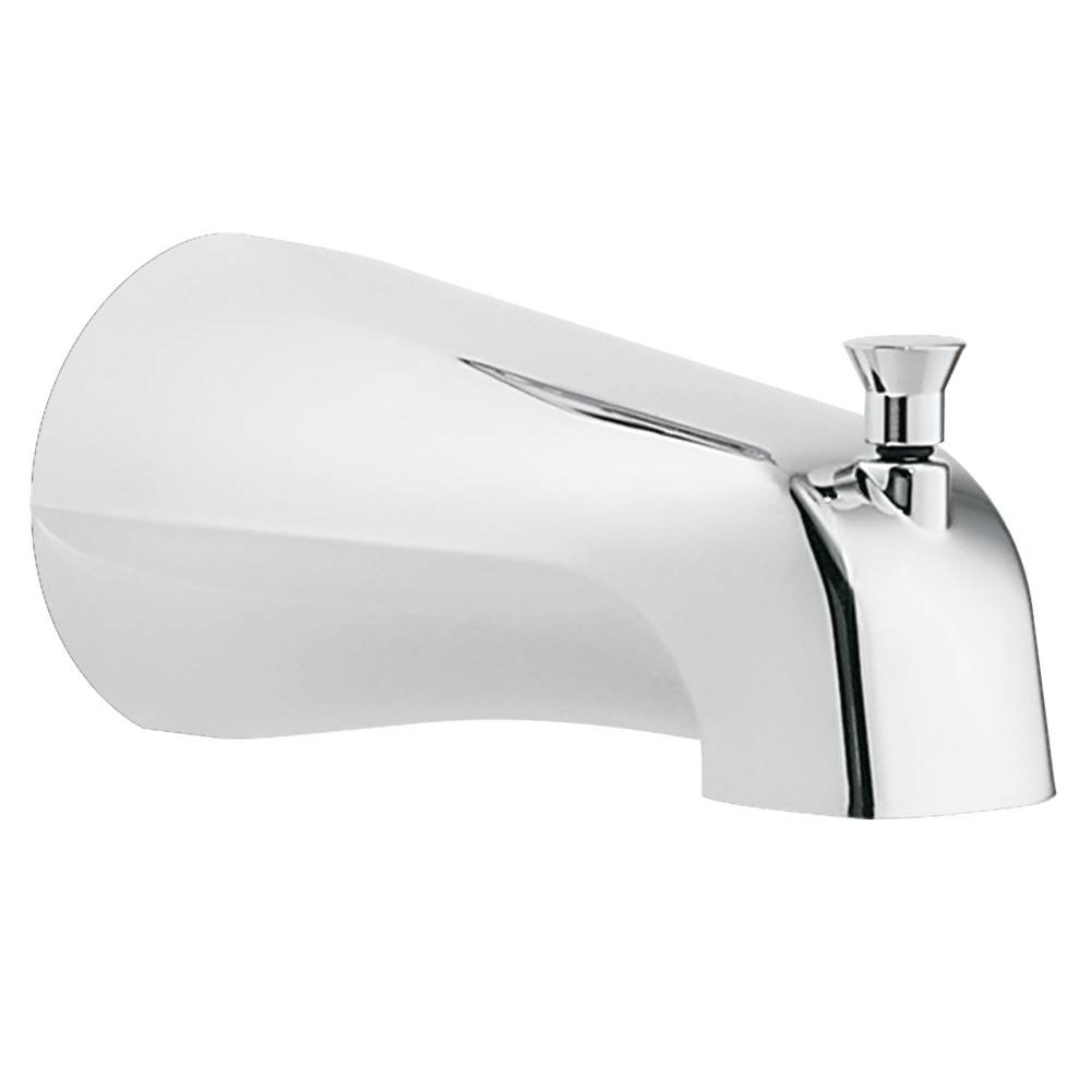Moen 3800 Tub Spout with Diverter, Threaded IPS Connection, Chrome