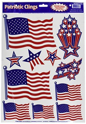 Patriotic Clings stripes designs Accessory