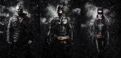 The Dark Knight Rises Batman Cat Woman Bane Silk Poster