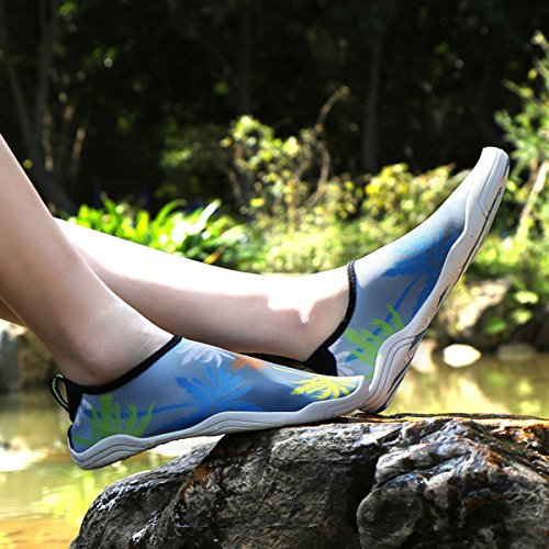 Agua SUADEX Piscina Unisex Playa Zapato de Mujer Natación Playa Hombre Calzado Surf de Zapatos Amarillo de Escarpines 04 drXxRZrq