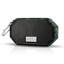 OXoqo IP66 Bluetooth Speaker Portable Waterproof Wireless Outdoor & Shower Speaker, Bluetooth CRS 4.0 Stereo with Built-in Mic, Universal Compatible with iPhone iPad and Android Audio Devices(Camouflage)
