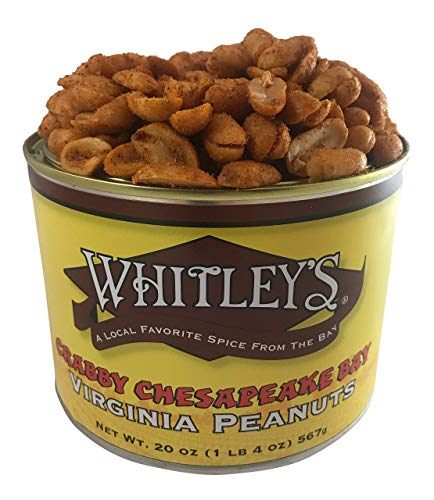 (Whitley's Crabby Chesapeake Bay Virginia Peanuts 20 Oz. Tin)