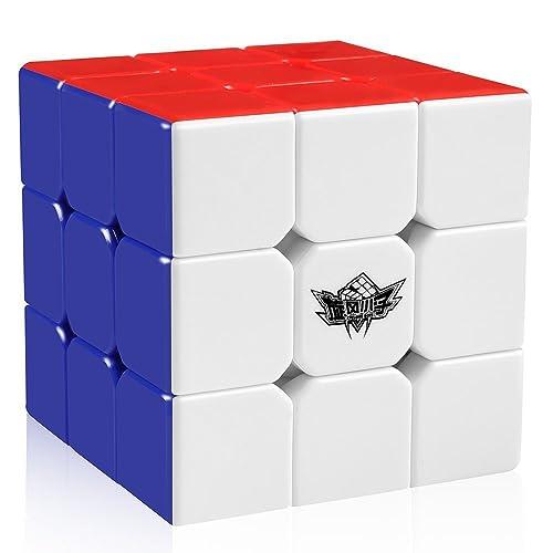 Cyclone Boys Magic Cube 3x3x3 Stickerless Speed Puzzle Cube (56mm)