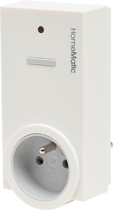 Homematic 141127A0 Funk-Schaltaktor 1-Fach, Zwischenstecker, Typ E (Frankreich/Polen)