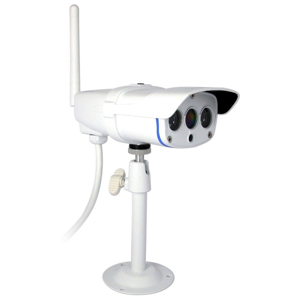 ワイヤレス防犯カメラ Vstarcam wifi ネットワークカメラ IP67防水 屋外 200万画素 1080P高画質 MicroSDカード録画 遠隔操作可能 (C16S-ホワイト) B0752B2N2D C16S-ホワイト C16S-ホワイト