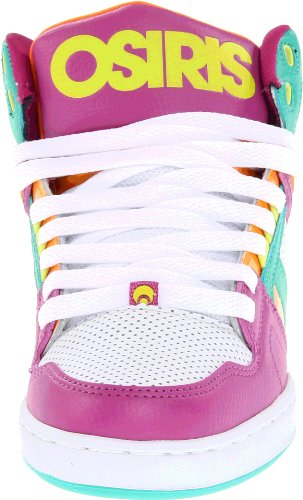 Orange Women's Purple Trainer NYC83 Osiris White Shoes Slim Z1H5F0