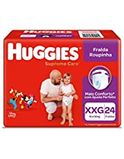 Fralda Huggies Supreme Care Roupinha XXG - 24 fraldas