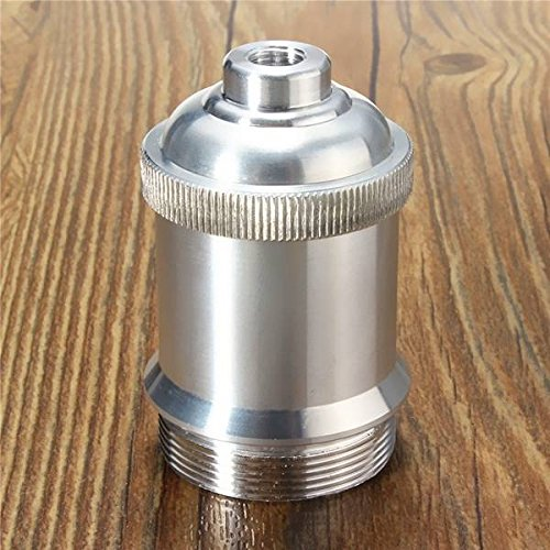 E26/E27 Retro Aluminum DIY Vintage Pendant Light Holder Lamp Base Bulb Socket ()