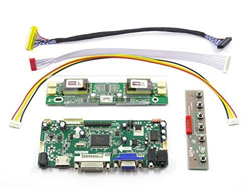 HDMI+DVI+VGA Controller Converter Board Monitor Kit for M170EG01 V.8 1280x1024 (Dvi Input Board)