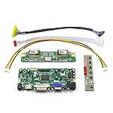 HDMI+DVI+VGA Controller Converter Board Monitor Kit for M170EG01 V.8 1280x1024