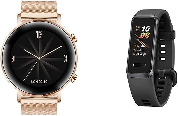 Huawei Watch Gt 2 Elegant Refined Gold Band 4 Elektronik