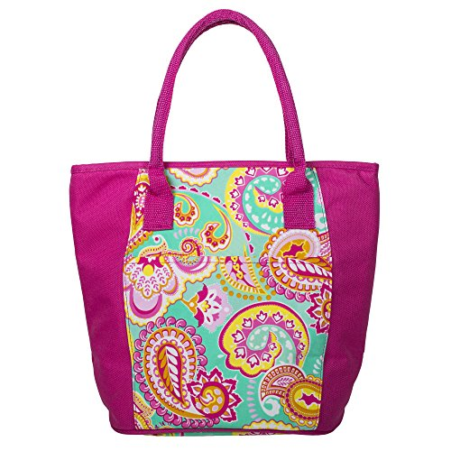 insulated lunch tote zippered - 5