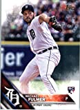 2016 Topps Update #US152 Michael Fulmer Detroit Tigers Baseball Rookie Card in Protective Screwdown Display Case