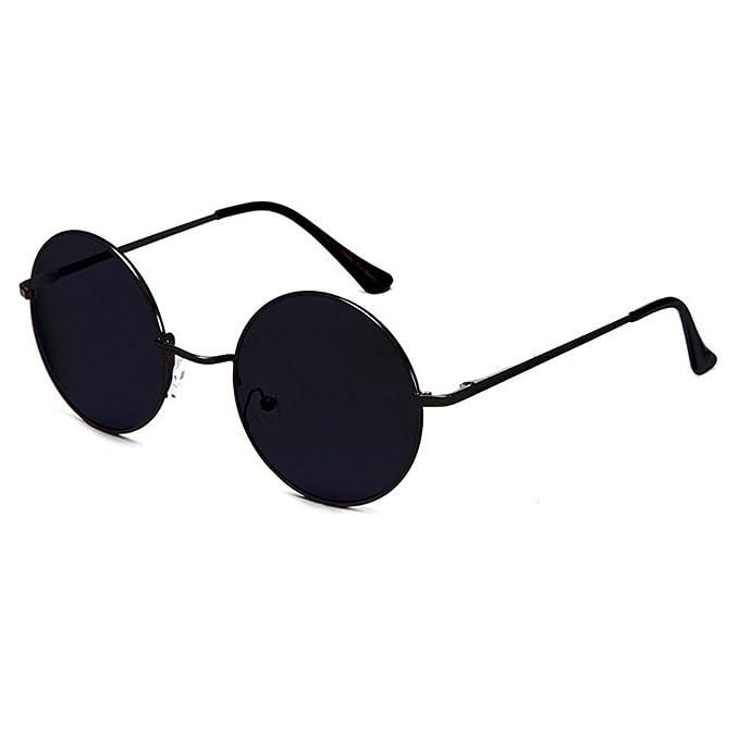 050a757072751 KISS RONDA de gafas de sol Hippie - estilo TEASHADES John Lennon - Metallo  Luz VINTAGE