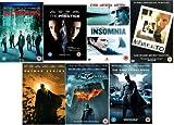 Christopher Nolan Collection Inception, Memento, The Prestige, Batman Begins, The Dark Knight, The Dark Knight Rises and Insomnia